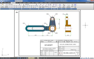 GstarCAD Mechanical Dimensioning Tools
